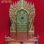แท่นพระพม่า 15 นิ้ว (กระจก)