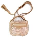 [ พร้อมส่ง ] - กระเป๋าแฟชั่น กระเป๋าถือ&สะพาย สีกากีสุดหรู ไซส์มินิ สุดฮิตหนังสวยคุณภาพ แต่งอะไหล่สีทองอย่างดี มีสายสะพายยาวปรับระดับได้ค่ะ