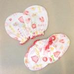 เซตถุงมือและถุงเท้าทารก ผ้ายืดพิมพ์ลาย คละลาย