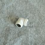 Fitting งอ90 ท่ออคริลิค14mm สีขาว