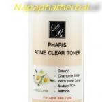 Acne Clear Toner  โทนเนอร์สำหรับสิวอักเสบ แผลสิว รอยแดงจากสิว