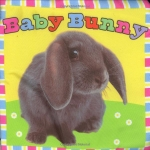 หนังสือผ้า Baby Bunny แบรนด์ Priddy Books