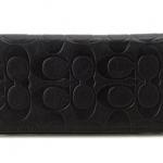 กระเป๋าสตางค์ผู้ชาย COACH MEN'S SIGNATURE BREAST POCKET LEATHER WALLET F75026 : BLACK