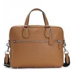 กระเป๋าผู้ชาย COACH HUDSON 5 BAG IN CROSSGRAIN LEATHER SILVER DENIM F71710