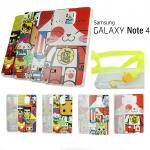 TPU เคสครอบหลัง ลายการ์ตูน For Samsung Galaxy NOTE4