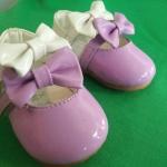 รองเท้าคัชชูเด็กเล็กหญิง รูปโบว์ Size 14-16