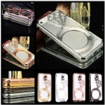 Luxury Metal Crystal Rhinestone Diamond Bling Bumper Case Cover For Samsung Galaxy NOTE3