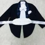 เซ็ตหูกระต่าย-ผ้าคาดเอว-ผ้าเช็ดหน้า สำหรับชุดทักซิโด้
