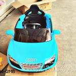 รถเก๋งออดี้2มอเตอร์สีฟ้า