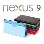 Case For Google Nexus 9 Tablet PU Leather Protective Case Stand Cover
