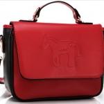 กระเป๋าแฟชั่น Axixi รหัสสินค้า AX43 สี แดง