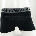 กางเกงในชาย Emporio Amani Boxer Brief : สีดำ ขอบEA