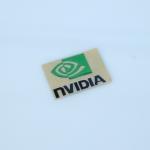 สติ๊กเกอร์ Nvidia สีเขียว