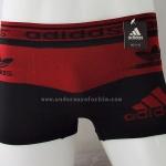 กางเกงในชาย ADIDAS Boxer Briefs : ทูโทน แดง-ดำ