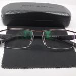 กรอบแว่นตา ไททาเนียม P8011N กรอบน้ำตาล 55-17-139
