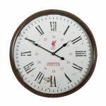 นาฬิกาติดผนังลิเวอร์พูลของแท้ นาฬิกาลิเวอร์พูลวินเทจขนาด 50 x 50 cm Liverpool FC Vintage Clock