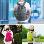 กระเป๋าเป้เดินทาง พับเก็บเป็นใบเล็กได้ มี 4 สี