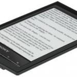 """เครื่องอ่าน Sony PRS-T1 6"""" Digital E-Ink Pearl eReader สีดำ"""