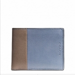 กระเป๋าสตางค์ผู้ชาย COACH BLEECKER SLIM BILLFOLD ID WALLET IN HARNESS LEATHER F74819