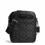 กระเป๋าผู้ชาย COACH HERITAGE SIGNATURE FLIGHT BAG F71167