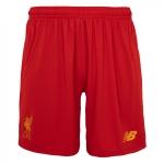 กางเกงลิเวอร์พูล 2016-2017 ทีมเหย้าของแท้ Liverpool FC Mens Home Shorts 16/17