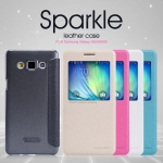 เคส Galaxy Galaxy A5 Leather case NILLKIN แท้ !!!