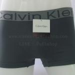 กางเกงในชาย Calvin Klein Boxer Briefs : สีเทา แถบขอบ CK