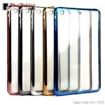 - TPU ใสขอบสี เคส Apple iPad Mini 1/2/3