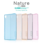 Nillkin Nature 0.6mm Transparent TPU Cover For Sony Xperia Z4 สำเนา