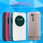 """เคส Asus Zenfone 2 Laser 6.0"""" (ZE601KL) Leather Case Sparkle NILLKIN แท้"""