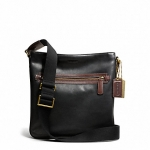 กระเป๋าผู้ชาย COACH BLEECKER HARNESS LEATHER FIELD BAG F70991