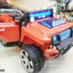 LN5058 รถจิ๊ฟเด็กนั่งไฟฟ้า2มอเตอร์ usb/sd/mp3ได้ มี 3 สี แดง เขียว ครีม