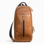 พร้อมส่ง กระเป๋าผู้ชาย COACH HERITAGE WEB LEATHER SLING F70811