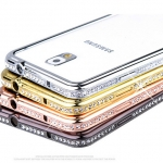Diamon Aluminium Bumper For Samsung Galaxy NOTE4