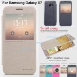เคส Samsung Galaxy S7 รุ่น Sparkle Leather Case NILLKIN แท้ !!