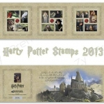 Harry Potter Stamps 2013