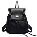 [ พร้อมส่ง ] - กระเป๋าเป้แฟชั่น สไตล์เกาหลี สีดำคลาสสิค สุดชิค ใบใหญ่แต่น้ำหนักเบา พกพาง่าย ดีไซน์สวยเก๋ไม่ซ้ำใคร เหมาะกับสาว ๆ