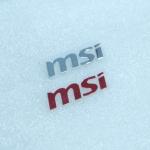 Sticker MSI