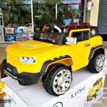 รถจิ๊ฟแฮมเมอร์2มอเตอร์สีเหลือง