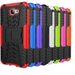 Hybrid Shockproof Armor Rubber Stand Case For Samsung Galaxy J7 Prime