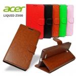 เคส Acer Liquid Z500 รุ่น หนังมัน Classic