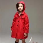 เสื้อโค้ท สีแดง