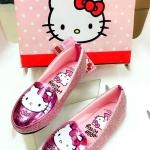 รองเท้าเด็ก คัชชู Hello Kitty