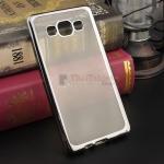 เคส TPU ครอบหลัง ขอบสีไฮโซ Samsung Galaxy A5 สีดำ