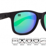 Blenders Eyewear รุ่น : DEEP SPACE VENUS : M CLASS ขาสปริง