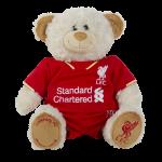 ตุ๊กตาที่ระลึกลิเวอร์พูลฤดูกาล 2015 2016 ของแท้ 100% Liverpool Season Kit Bear 2015 2016 ขนาดประมาณ Sizing: 38 x 33 ซม.