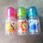 ขวดนม BPA-Free 4 ออนซ์ Buddy พิมพ์ลายการ์ตูน