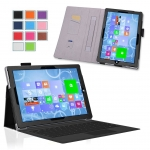 Microsoft Surface Pro 3 Case รุ่น Professional Slim-Fit PU Leather Folio Case