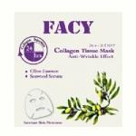 Facy Collagen Tissue Mask Anti-Wrinkle - เฟซี่ แอนตี้ เอจจิ้ง คอลลาเจน ทิชชู่มาส์ก# 12 แผ่น