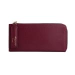 [ พร้อมส่ง ] - กระเป๋าสตางค์แฟชั่น สีไวน์แดงเข้ม ซิปรอบปิดตัว L ใบยาว ดีไซน์สวยคลาสสิค ช่องเยอะ งานสวย น่าใช้มากๆค่ะ